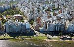 Photo #58432 - Aerial view of the Rambla Gandhi and Vazquez Ledesma Street. Chez Montevideo. Club Biguá
