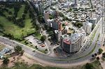 Photo #58408 - Aerial view of the buildings of the Rambla Gandhi and Bulevar Artigas