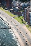 Foto #58471 - Aerial view of the Rambla Rep. Argentina and Paraguay and Rio Negro streets