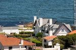 Foto #58720 - From the lighthouse of Punta del Este. Houses with sea view