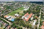 Foto #59033 - Aerial view of the Scuola Italiana and Stella Maris College. General French Street