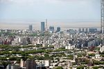 Foto #59127 - Aerial view of Montevideo with Buceo quarter buildings in the background