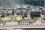 Photo #59050 - Aerial view of the Rambla Argentina. Baby football fields