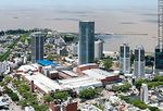 Foto #59133 - Aerial view of Montevideo Shopping Center and the WTC towers. Free Zone Buceo