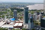 Foto #59136 - Aerial view of Montevideo Shopping Center and the WTC towers. Free Zone Buceo