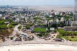 Foto #59301 - Aerial view of Playa Ramirez, Franzini stadium and playground games