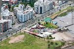 Photo #59272 - Aerial view of the clubs La Estacada and Nautilus. Rambla, Teru and Carace streets