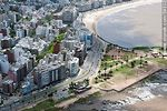 Photo #59332 - Aerial View of Trouville, Gandhi promenade and the street Francisco Vidal