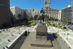 Foto #60663 - Aerial view of Independence Square. Monument to Artigas