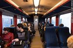 Photo #60832 - Interior of Swedish trains with passengers (2013)