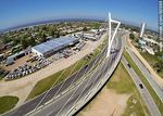 Photo #60988 - Aerial photograph of the Bridge of the Americas linking Giannattasio and De las Américas avenues