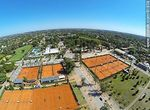 Photo #61838 - Aerial photo of the tennis courts at the Carrasco Lawn