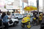 Photo #63172 - Ice Cream tricycle, taxis in A. Leguia street
