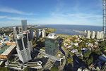 Foto #63436 - Aerial view of the towers of the World Trade Center Montevideo