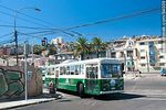 Foto #64009 - Trolleybus on the corner of the streets Colón and Argentina Poniente