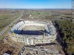 Foto #64997 - Aerial photo of the progress of the construction of the stadium of Club A. Peñarol to August 15, 2015