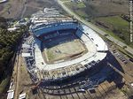 Foto #65004 - Aerial photo of the progress of the construction of the stadium of Club A. Peñarol to August 15, 2015