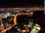 Photo #65241 - Nocturnal aerial photo of Puerto del Buceo, Yacht Club and Rambla Armenia