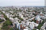 Foto #65768 - Aerial view of the Parque Rodó and Cordón neighborhood. Liceo Zorrilla