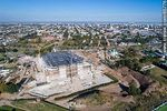Foto #65776 - Aerial photo of the construction of the Antel Arena. May 2017