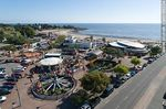 Photo #66334 - Aerial view of the playground of Rodó Park and Ramírez Beach
