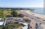Photo #66326 - Aerial view of the Rodó Park playground and Ramírez Beach