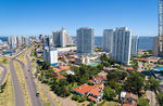 Foto #66867 - Aerial view of Punta del Este towers from Artigas Avenue