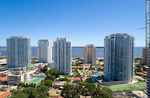 Foto #66864 - Aerial view of Punta del Este towers from Artigas Avenue