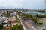 Photo #67256 - Aerial view of Ricaldoni Avenue, Health Area, medical schools, CUDIM and the Centenario Stadium