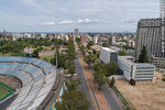 Photo #67277 - Aerial view of Avenida Ricaldoni, Health Area, medical schools, CUDIM, Centenary Stadium
