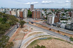 Photo #67286 - Aerial view of the construction of the tunnel on Italia Avenue under Ricaldoni and Centenario Avenues