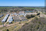 Photo #68310 - Aerial view of the town and OSE's water treatment plant