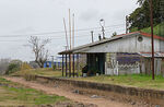 Foto #69871 - Former Juanicó station turned into housing. Project of new tracks by the UPM train, 2020