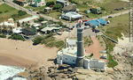 Photo #8218 - Jose Ignacio lighthouse aerial view