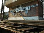 Photo #3741 - Lorenzo Carnelli railroad station.