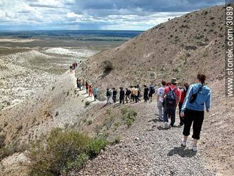 Photographs of the Paleontological Park - Province of Chubut - ARGENTINA. Image #3089