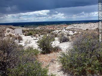 Photographs of the Paleontological Park - Province of Chubut - ARGENTINA. Image #3080