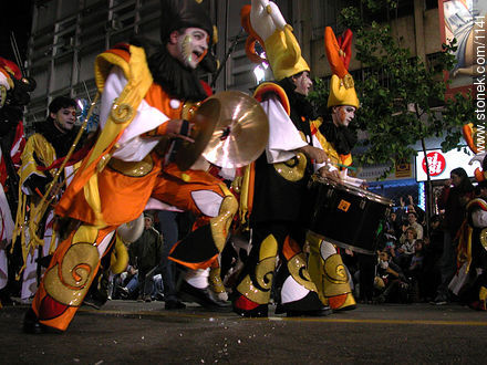 Photos of the Carnival Parade - Department and city of Montevideo - URUGUAY. Image #1141