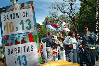 Photos of campaign activities - Department and city of Montevideo - URUGUAY. Image #10587