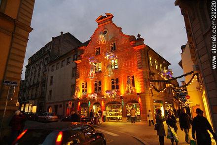Rue des Etudiants. - Photos of Strasbourg - Region of Alsace - FRANCE. Image #29220