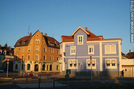 Rue de L'Illberg, Mulhouse 68200 - Photos of the city of Mulhouse - Region of Alsace - FRANCE. Image #27910