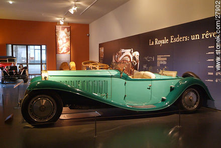 Bugatti Royale Esders - Photos of the Musée National de l'Automobile de Mulhouse - Region of Alsace - FRANCE. Image #27902