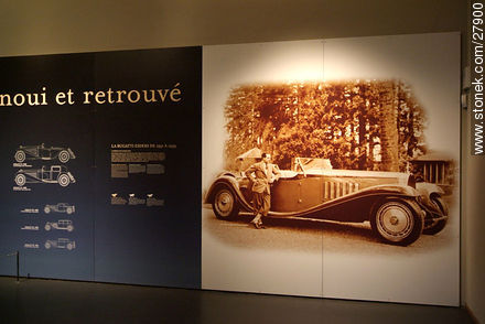 Bugatti Royale Esders.Produced from 1931 to 1940 - Photos of the Musée National de l'Automobile de Mulhouse - Region of Alsace - FRANCE. Image #27900