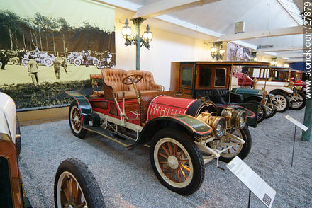 Sage two-seater, 1907 - Photos of the Musée National de l'Automobile de Mulhouse - Region of Alsace - FRANCE. Image #27879