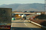 Photo #27921 - Trucks on route A35 E25. Detour to Bennwihr and Houssen (route D4)