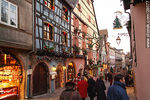Photo #28077 - Town of Riquewihr in Christmas time