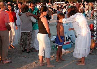 Photos of the celebration in the day of Iemanja, URUGUAY. Image #1578