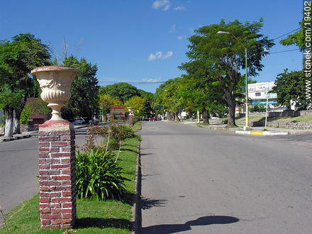 Gral. Flores Ave. - Photos of the city of Minas - Lavalleja - URUGUAY. Image #19402