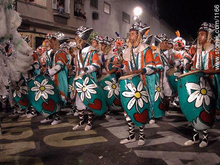 Photos of Llamadas parade - Department and city of Montevideo - URUGUAY. Image #1166