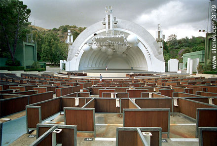 Holywood Bowl. - Photographs of Los Angeles - USA-CANADA. Image #3179